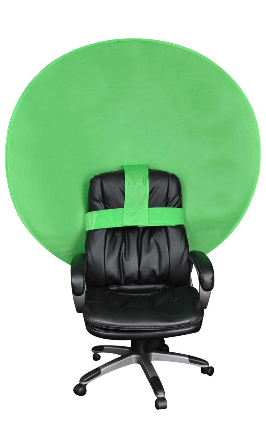 The Big Shot Green Screen Webcam Background For A Chair