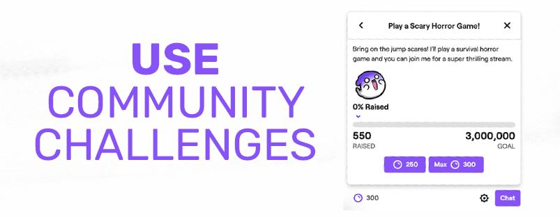 Photo of a Community Challenge.