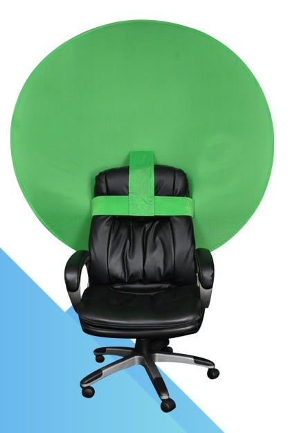 The Big Shot Green Screen Webcam Background For A Chair The Webaround