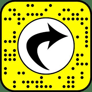 Snap Camera Filter - Selfie Flip QR code