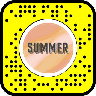 The Summer Snap Chat Filter QR code