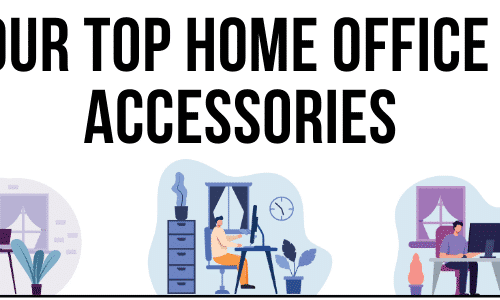 Top Home Office Accessories Title Image